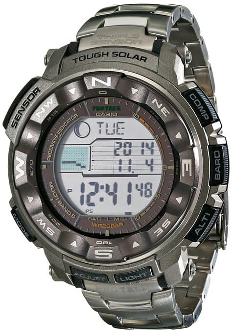 Casio Men's PRW2500T Military Watch